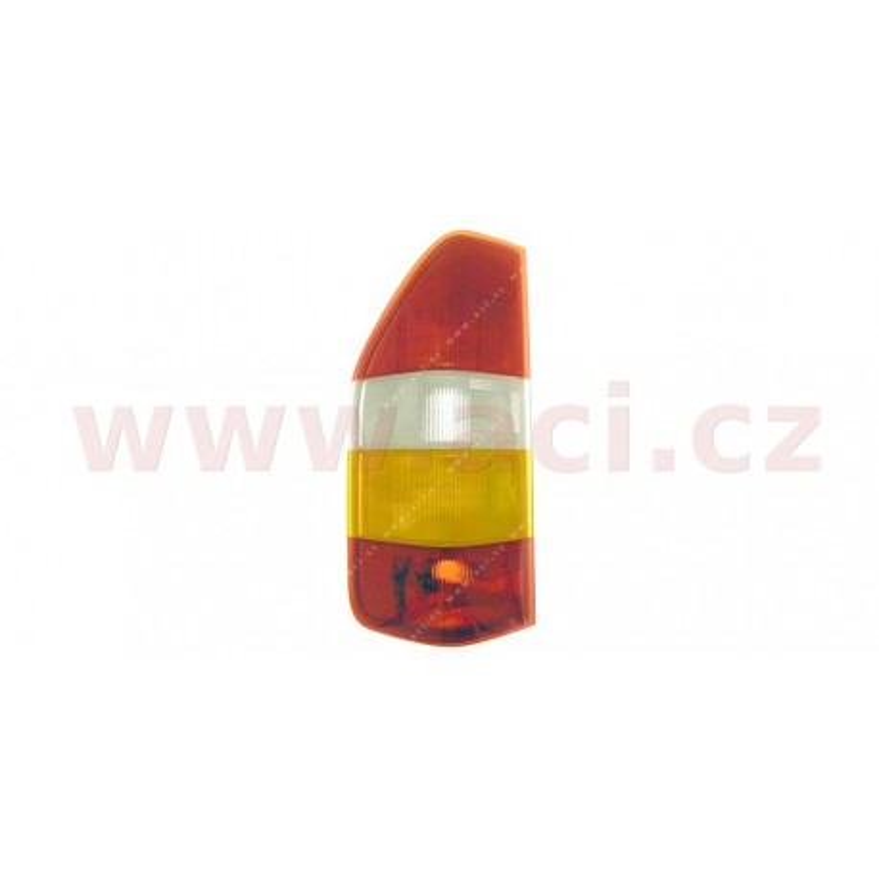 -02 zadne svetlo oranžovo-bílé (bez obj.) CARELLO (prvovýroba) (ne Pick-Up, Valník) strana Lava - [3075931M] - 9182