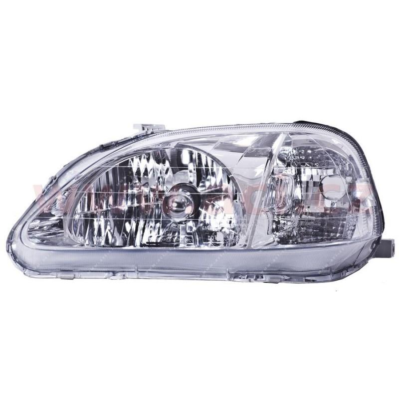 -9/00 zadne svetlo oranžovo-červené (bez obj.) Sedan HELLA (prvovýroba) strana Lava - [0639931H] - 12295