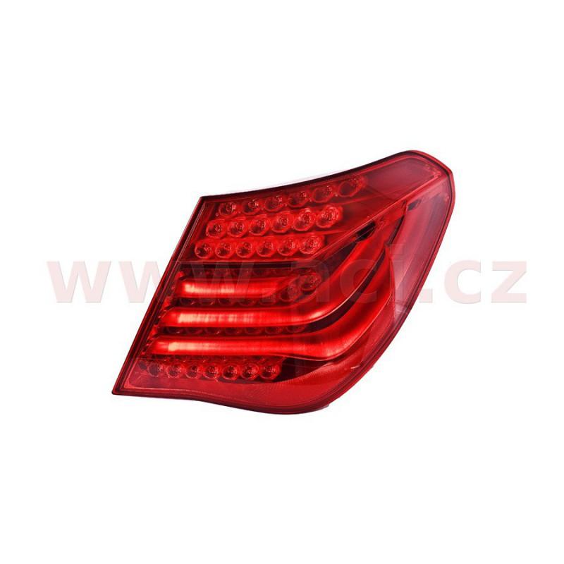 9/00- predne svetlo H7+H7 s čirým blikačem + světelný ramik (el. ovládané + motorček ) HELLA (prvovýroba) strana Lava -